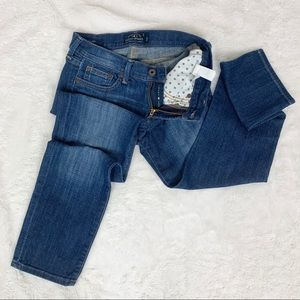 Lucky Brand Sweet Crop Jeans Size 0/25